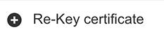 Re-key Certificate