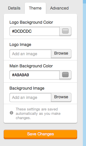 Webform Theme Options