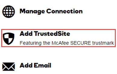 Add Trusted Site