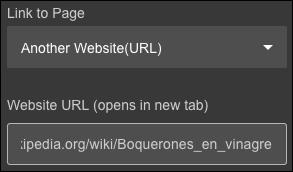 enter web address