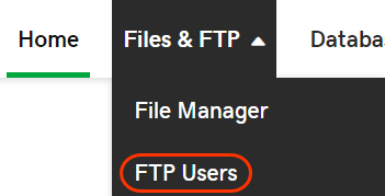 Find FTP users