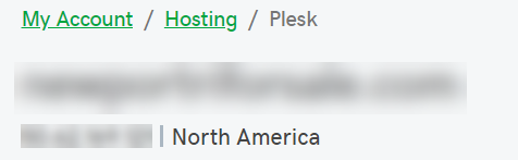 Find your Plesk IP address