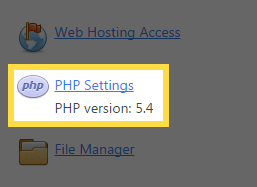 View your PHP Version