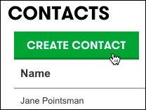 Click Create Contact in the Contacts panel to add more contacts