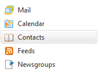 Select contacts.